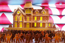 Gingerbread House at Lord & Taylor. (Photo courtesy of NYCTrip.com.)