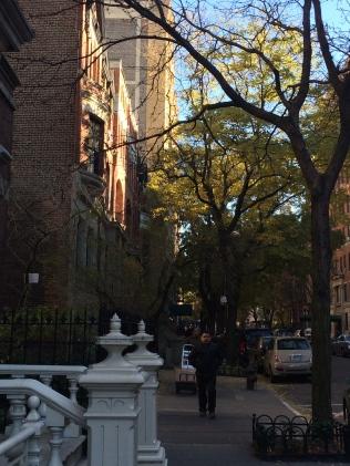 Strolling the neighborhoods of NYC