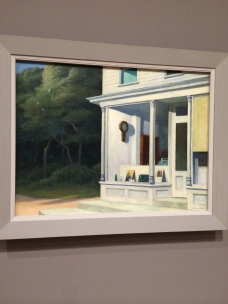 Seven A. M. by Edward Hopper, on permanent display at Whitney Museum, NYC
