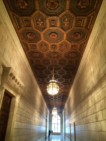 Coffered ceiling, Schwarzman Building, New York Public Library