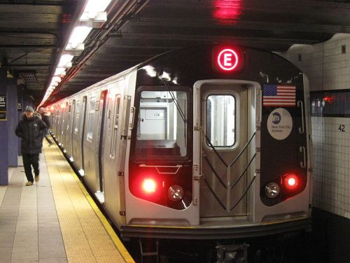 Subways were our friend! Punctual, safe, nearby. (Image credit: Wikimedia Commons)