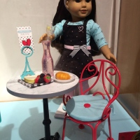 The joy (chaos? panic?) of American Girl NYC in December