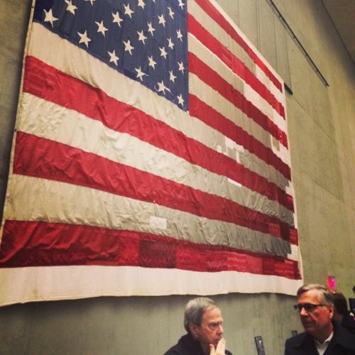 A tribute to America in 9/11 Memorial Museum