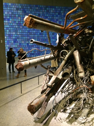 Wreckage from 9/11 on display