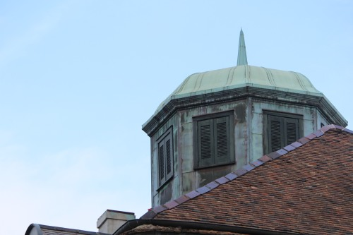 Rooftop structure, Napoleon House, New Orleans French Quarter