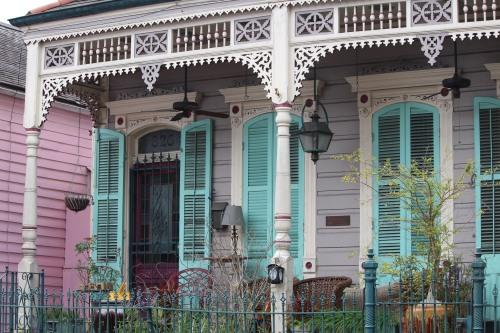Shotgun house, New Orleans French Quarter