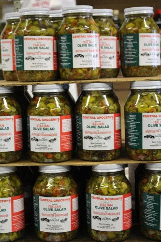 Central Grocery olive spread: New Orleans