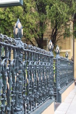 Cornstalk Fence, New Orleans