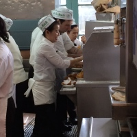 Behind the scenes:  Cafe Du Monde, New Orleans