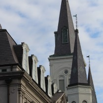 Reaching heavenward -- St. Louis Cathedral