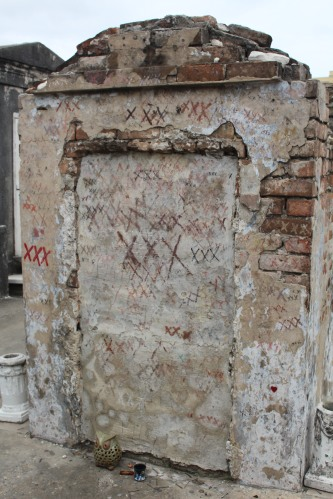 Tomb assumed by many to be Marie Laveau's
