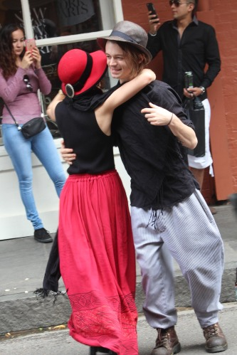 Just a little street dancing: French Quarter, New Orleans