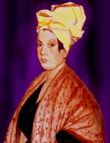 Portrait of Marie Laveau. Credit: Wikimedia Commons