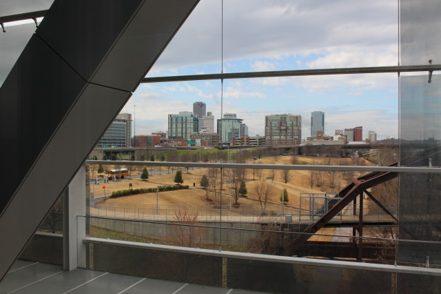 View of Little Rock from Clinton Presidential Library