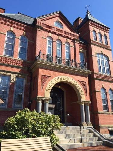 Historic Rice Public Library in Kittery, Maine