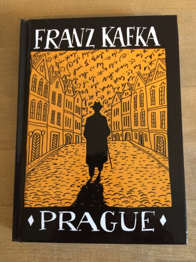 A little journal sporting a Kafka-esque graphic cover!  Don't you love it?