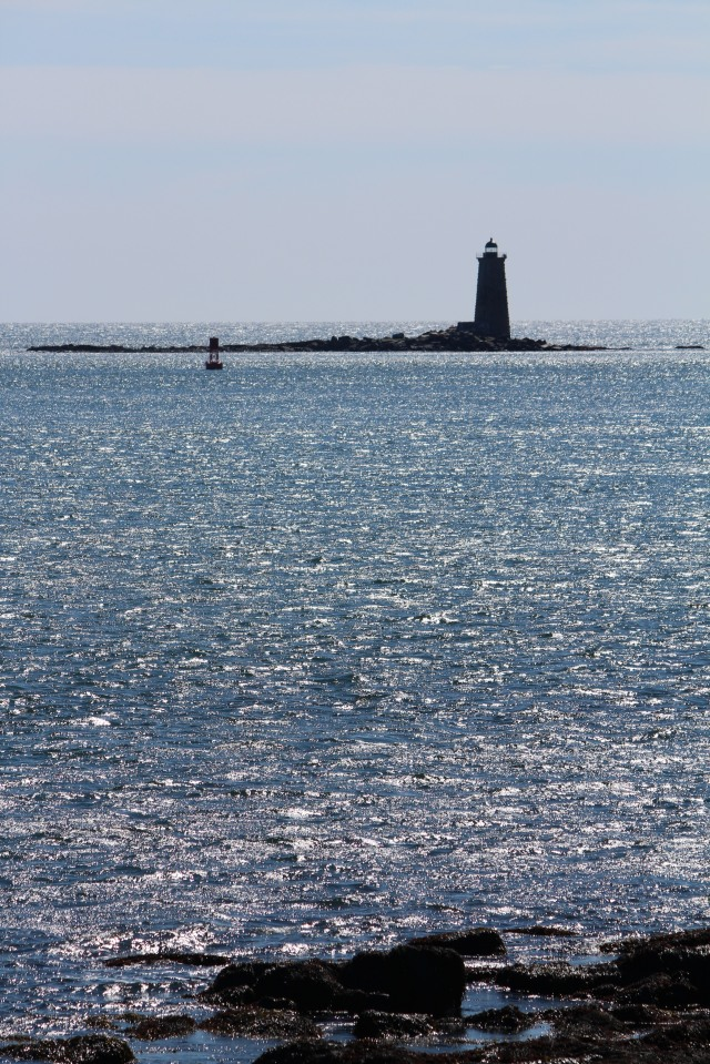 Whaleback Lighthouse -- suitable for framing!
