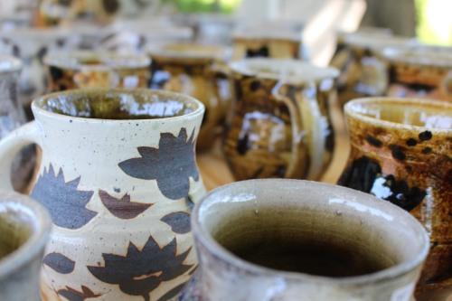 Coffee mugs by Michael Kline
