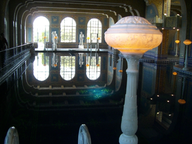 Interior Pool at Hearst Castle