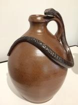 Snake jug by Marsha Owen & Elizabeth Brim