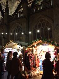 The glow of Christmas Markets, Bath, England.