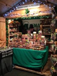 Games & puzzles at Bath Christmas Markets