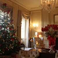 Postcards from England: Christmas 2016 -- The Royal Crescent Hotel & Spa