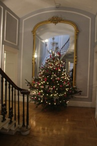 Tasteful decorations take center stage at The Royal Crescent.
