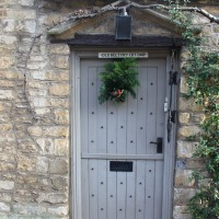 Postcards from England: Christmas 2016 -- Cotswolds Elegance