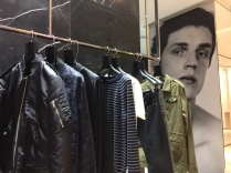 Leather jackets and street clothes for the well dressed in London!
