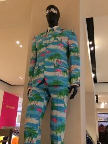 How 'bout a flamingo suit?