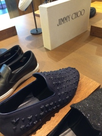 Loafers but with a fashion edge by Jimmy Choo