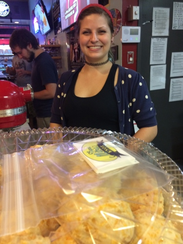 Owner Hannah McConnel beams when you talk about Sugar Mama's cookies.