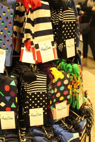 Happy Socks at Selfridges, London