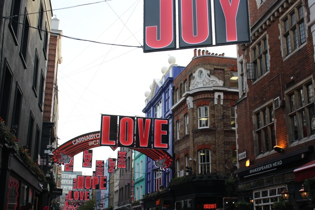 Carnaby Street in 2016