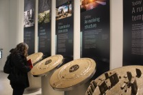 Evolution of Stonehenge over 1500 years in models at the Visitor Center