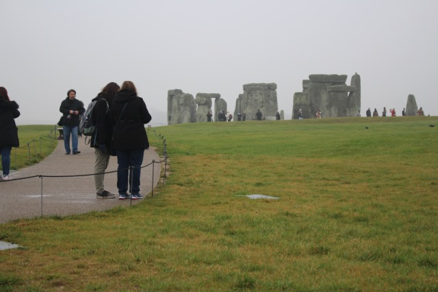 The distance from the Visitor Center to the site added to the mystique at Stonehenge