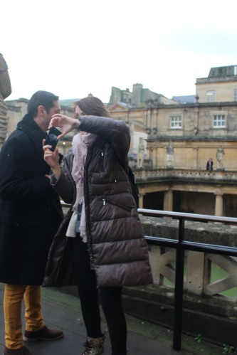Can you get Bath Abbey in the background?