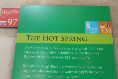 Narrative on Hot Spring with optional discourse by Bill Bryson