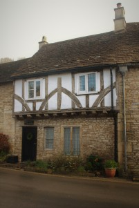 Architectural detail -- home in The Cotswolds