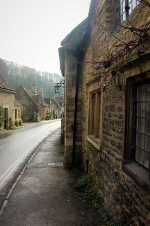 A street in Castle Combe