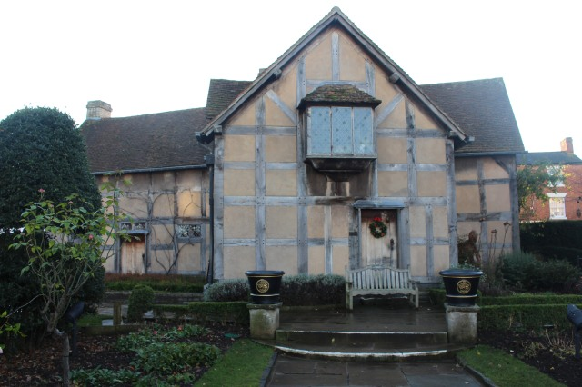 Shakespeare's home on Henley Street