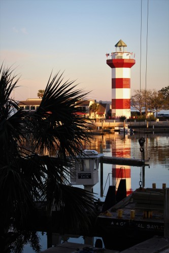 Hilton Head harbor under repair