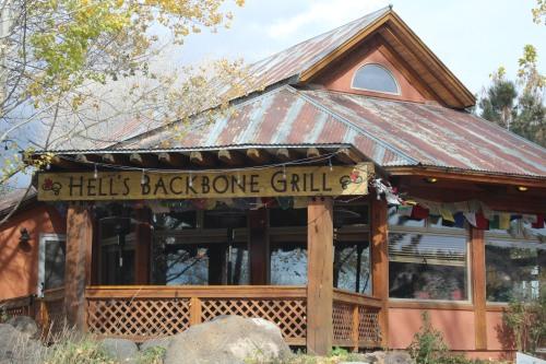 Hell's Backbone Grill in Boulder, Utah