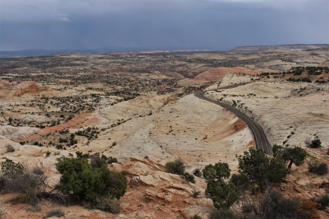 The colorful , yet rugged expanse known as Grand Staircase-Escalante.