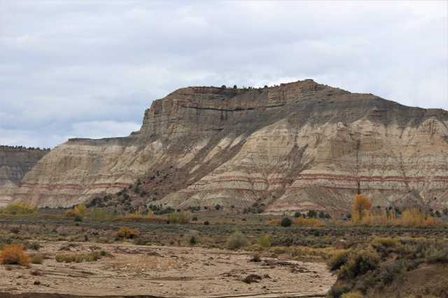 Ribbons of color at Grand Staircase-Escalante