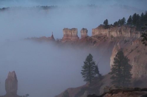 Standing out at a distance: structures of Bryce Canyon