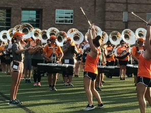 Practice makes perfect: Pride of the Southland Band