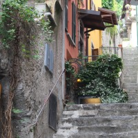 Travel theme:  Stepping it up in Varenna, Italy