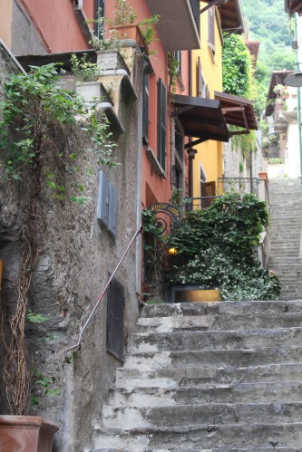 If you live in Varenna, you probably have to get accustomed to steep, but lovely, climbs.